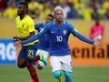 Duet Gabriel Jesus dan Neymar Menangkan Brasil atas Ekuador