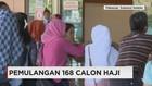 110 Calon Haji Korban Penipuan Tiba di Makassar