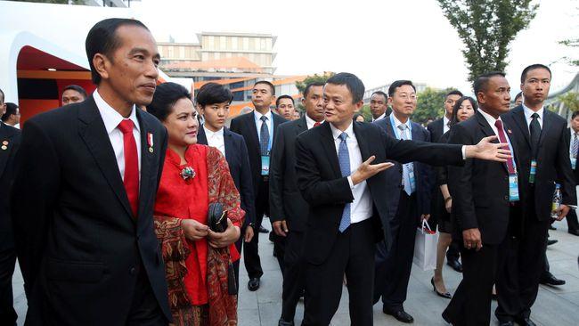 Jack Ma Kunjungi Jokowi di Istana Bogor
