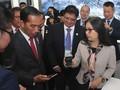 Jokowi Temui Bos Huawei di China Bahas Telekomunikasi