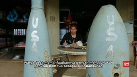 Sisa Amunisi Perang Vietnam Ancam Warga Laos
