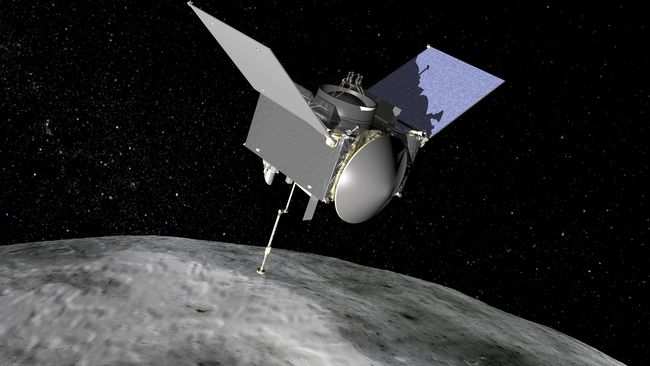 Pesawat Antariksa NASA Himpun Sampel Petunjuk Awal Kehidupan