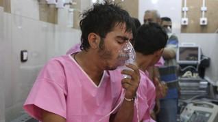 Serangan Gas Beracun di Suriah, Lebih dari 100 Orang Terluka