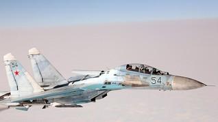 Pesawat Pengintai AS Dicegat Sukhoi Rusia