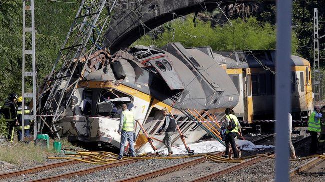 Kecelakaan Kereta di Barcelona, Belasan Terluka