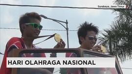 Owi-Butet Ikut Memeriahkan Peringatan Hari Olahraga Nasional
