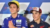 Tetap di Honda, Marquez Disindir Tak Seberani Rossi