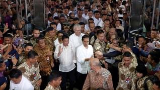 Blusukan ke Tanah Abang, Duterte Dikira 'Pejabat Asal Batak'