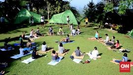 Lokasi Idaman untuk Yoga di Alam