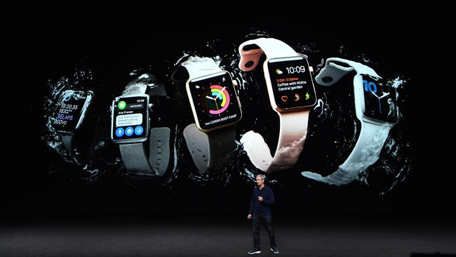 Kapalkan 3,5 Juta Watch, Apple Rajai Bisnis Wearable Device