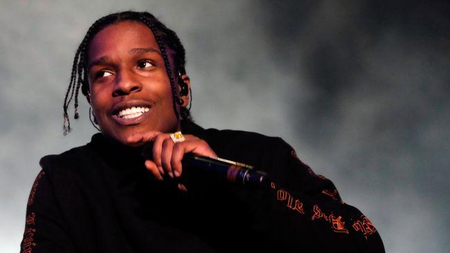 Sempat Jadi Tahanan, A$AP Rocky Kembali Manggung di Swedia