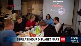 Ilmuwan Telah Selesai Melakukan Simulasi Hidup di Mars