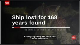 Kapal yang Tenggelam 168 Tahun Lalu Ditemukan