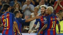 Guardiola: Neymar dan Messi Nyaris Tak Bisa Disetop