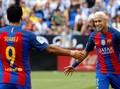 Barcelona Kalahkan Leganes, Trio MSN Cetak Gol