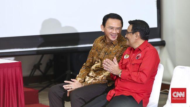 Kala Ahok Meninggalkan Warga Jakarta Demi Megawati