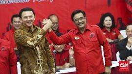 Potret Sumringah Ahok-Djarot Dipinang PDIP