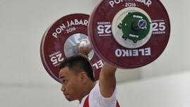 Eko Yuli Bidik Emas Usai Nomor 62 Kg Digelar di Asian Games