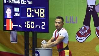 Eko Yuli Pasrah Jika Harus Jadi Penonton di Asian Games 2018