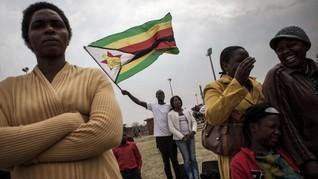 Aksi Protes Membawa Bendera Diancam Penjara di Zimbabwe