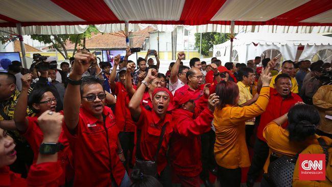 Massa PDIP Marah di Kantor Radar Bogor, Staf Dipukul