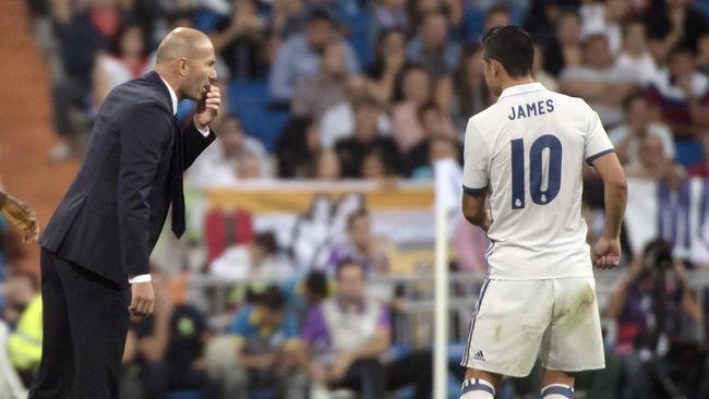 James Rodriguez yang Masih Setia pada Real Madrid