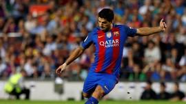 Gol Dramatis Suarez Selamatkan Barcelona dari Kekalahan