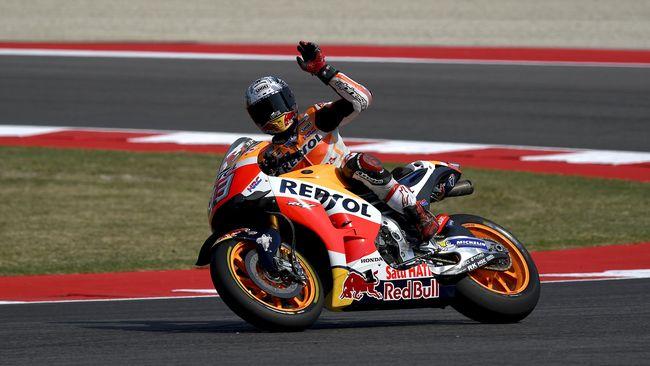 Marc Marquez, Raja MotoGP Pemecah Rekor Rossi