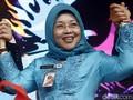 Tiba di Cikeas, Sylviana Enggan Pastikan Maju Pilkada Jakarta