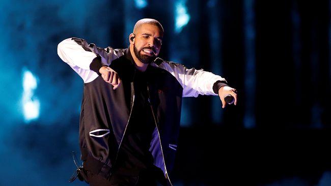 Album Baru Drake Geser Rekor Streaming Ed Sheeran