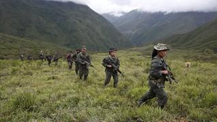 Bentrok Militer dan Pemberontak Kolombia, 10 Orang Tewas