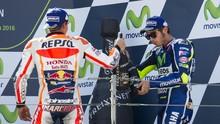 Elias Yakin Rossi dan Marquez Segera Berpelukan di MotoGP