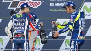 Penyesalan Lorenzo Usai Kalah dari Rossi di MotoGP Catalunya