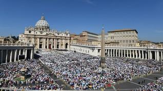 Pandemi Corona, Paskah di Vatikan Tak Bakal Dihadiri Jemaat