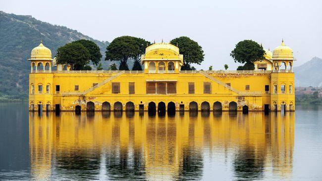 Jal Mahal, Ikon Pariwisata India 'Pesaing' Taj Mahal