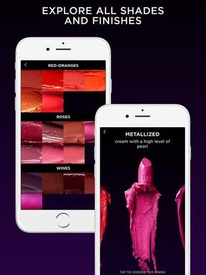 Urban Decay Ciptakan Aplikasi  untuk Mencoba 100 Warna Lipstik
