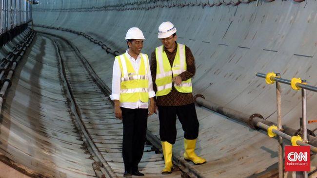 Jokowi Puji Kemajuan Pembangunan LRT dan MRT