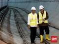 MRT Jakarta Ditargetkan Beroperasi Februari 2019