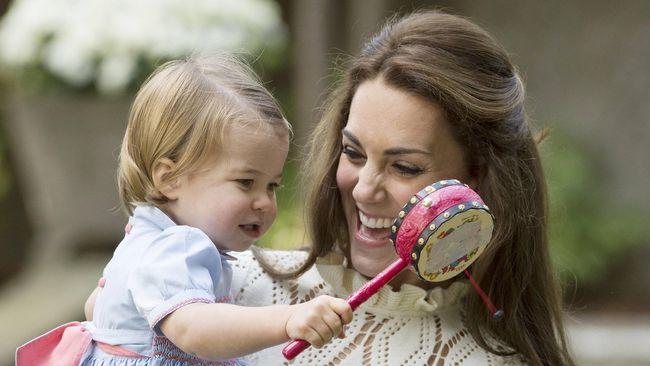 Tahun Depan Putri Charlotte Jadi Murid TK