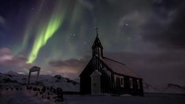 Nikmati Aurora Borealis, Warga Islandia Padamkan Lampu