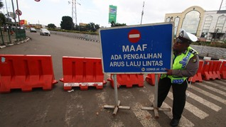 Polda Metro Jaya Simulasi Tutup Akses Jakarta Lewat Pemetaan
