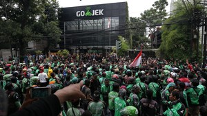 Jika Tak Diampuni, Ribuan Eks 'Driver Nakal' Siap Demo Gojek