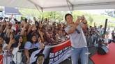 Rio Haryanto mengadakan acara jumpa penggemar di Sirkuit Internasional Sepang,akhir pekan lalu, di sela balapan GP2 dan GP3. (Cep Goldia/Media Relations Rio Haryanto)