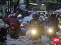 Jakarta Diguyur Hujan, Muncul Genangan Hingga 40 Cm