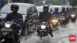 Hujan Guyur Jakarta, Semanggi dan Setiabudi Masih Tergenang