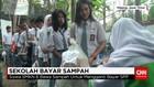 Murid SMKN 6 Malang Bayar Iuran Sekolah dengan Sampah