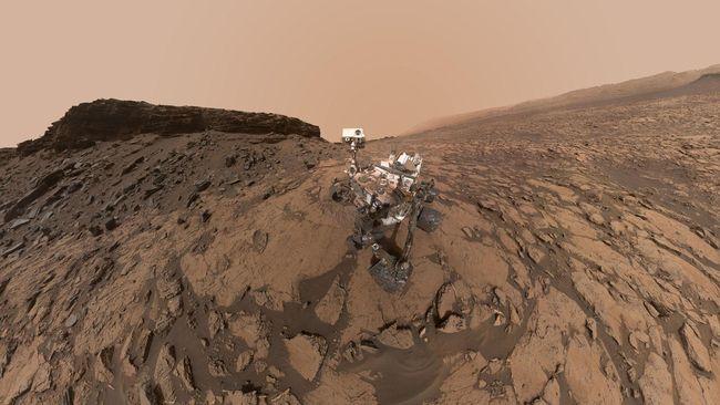 Rover Curiosity NASA Temukan Oasis Kuno di Mars