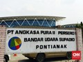 Evakuasi Terhambat, Bandara Supadio Masih Tunda Penerbangan