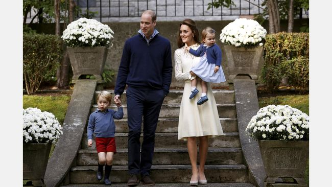 Alasan Unik Pangeran George Selalu Pakai Celana Pendek