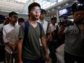 Aktivis Hong Kong Ditangkap Lagi Usai Kunjungan ke Taiwan